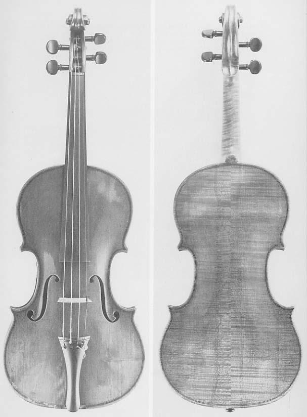 antique violin identification